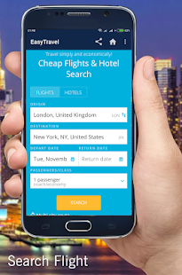 EasyTravel - Flight & Hotel Search - náhled