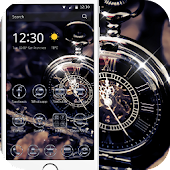 Retro pocket watch theme