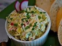 Radish, Cucumber And Bacon Spread Recipe