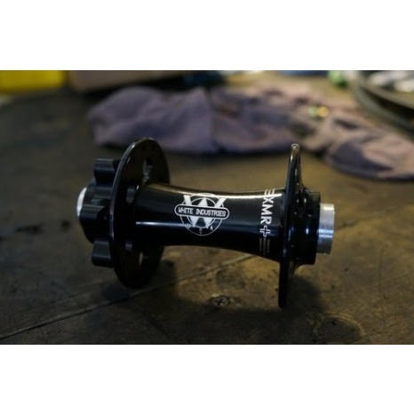 White Industries XMR BOOST Front Hub 15x110mm TA/QR Anodized Black