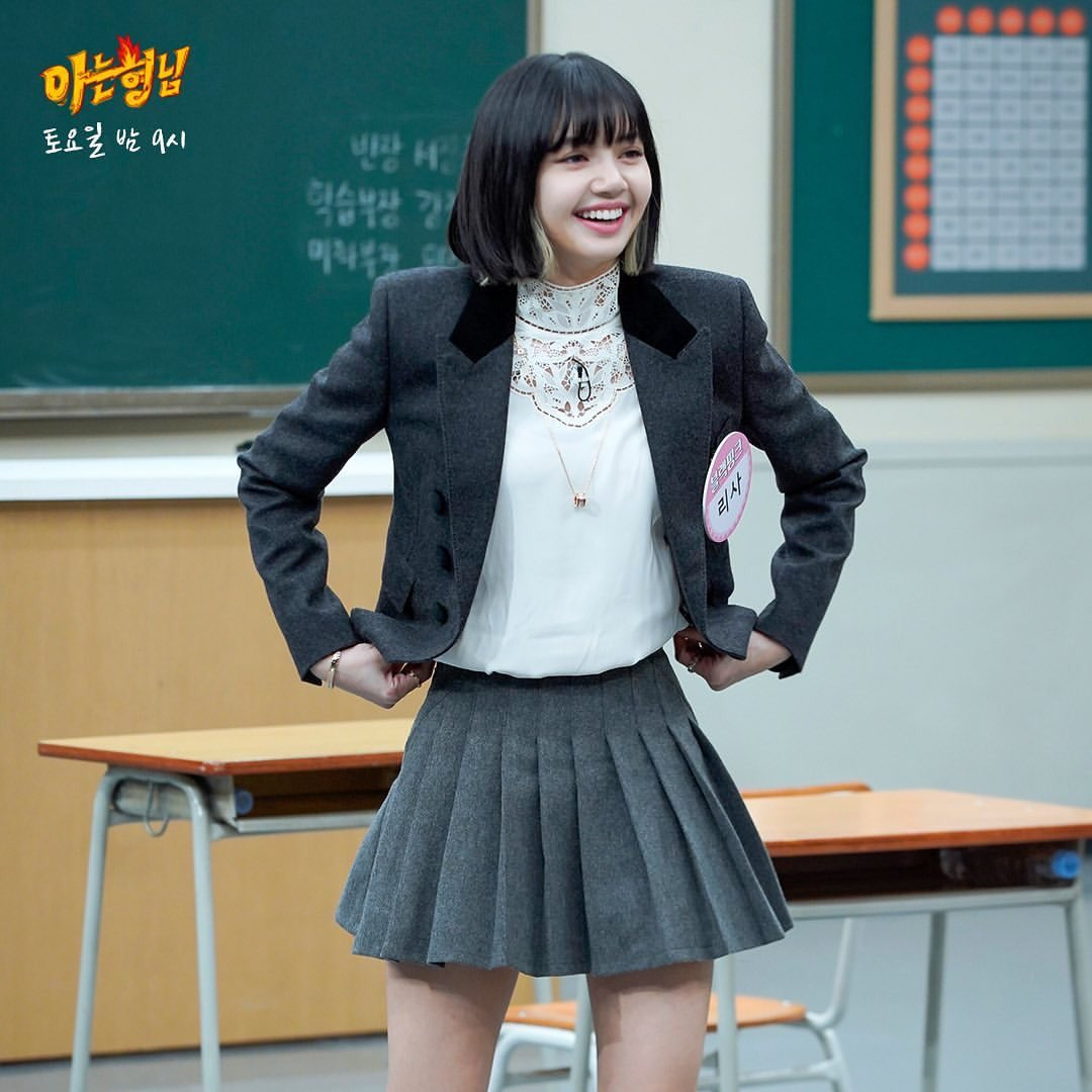 blackpink lisa knowing brothers
