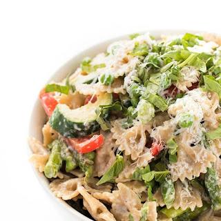 Pasta Primavera with SautéEd Vegetables Recipe