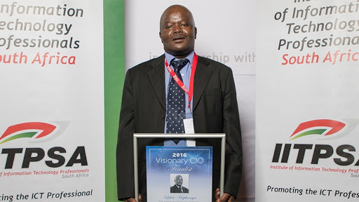 Libisi Maphanga serves as the Independent Electoral Commission's CIO.