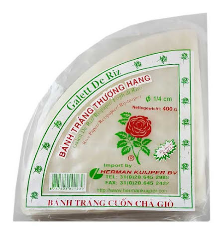 Rice Paper Triangle 400g Rose Brand
