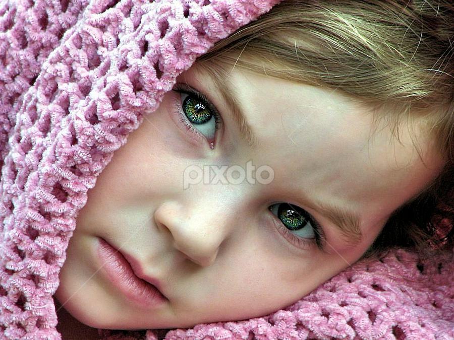 Pretty in Pink by Sandy Considine - Babies & Children Child Portraits