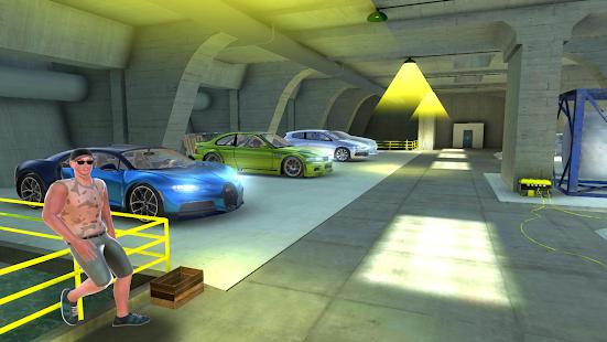 Chiron Drift Simulator - náhled