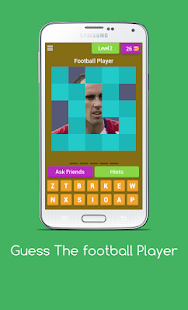 Guess The Football Player: Football Quiz Screenshot