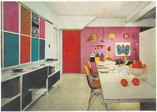 Photo: Another shot of the 1955 ultra modern kitchen. I didn't know anyone who had this look til the late 60's.
