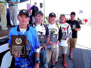 Photo: 15-18 Top Five (L-R) Austin Mize, David Gaston, Seth Butts, Zeke Gossett, Jacob Clifton