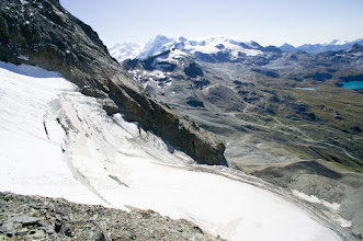 Photo: v pozadí sada 4tis - Nordend, Dufourspitze, Lyskamm, Breithorn