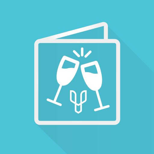 Criador de convites de casamento e outros eventos