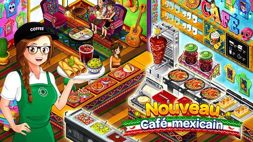 Panique au café : Restaurant astuce APK MOD capture d'écran 1