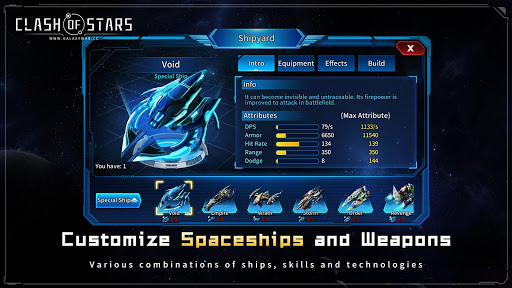 Clash of Stars: Strategy Space Game apklade screenshots 2