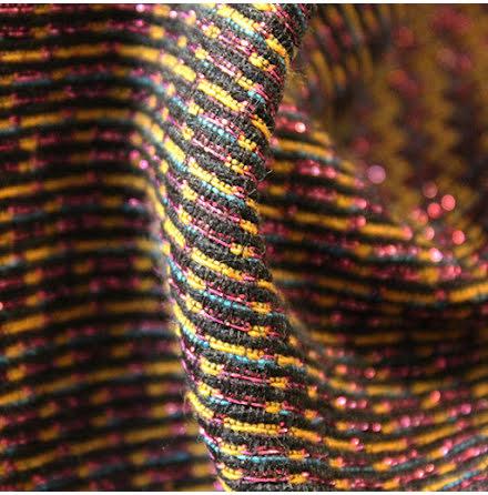 Strukturväv Glitter
