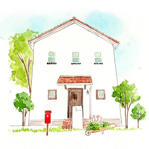 casa carina こんな家に住みたいを形にした南欧住宅 遊戲 App LOGO-硬是要APP