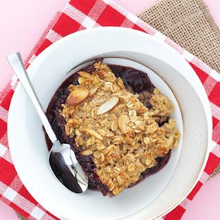 Cherry Bourbon Baked Oatmeal