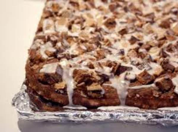 Chocolate Toffee Coffee Cake Recipe