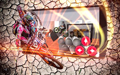 3D Motocross Office Bike Rider - náhled