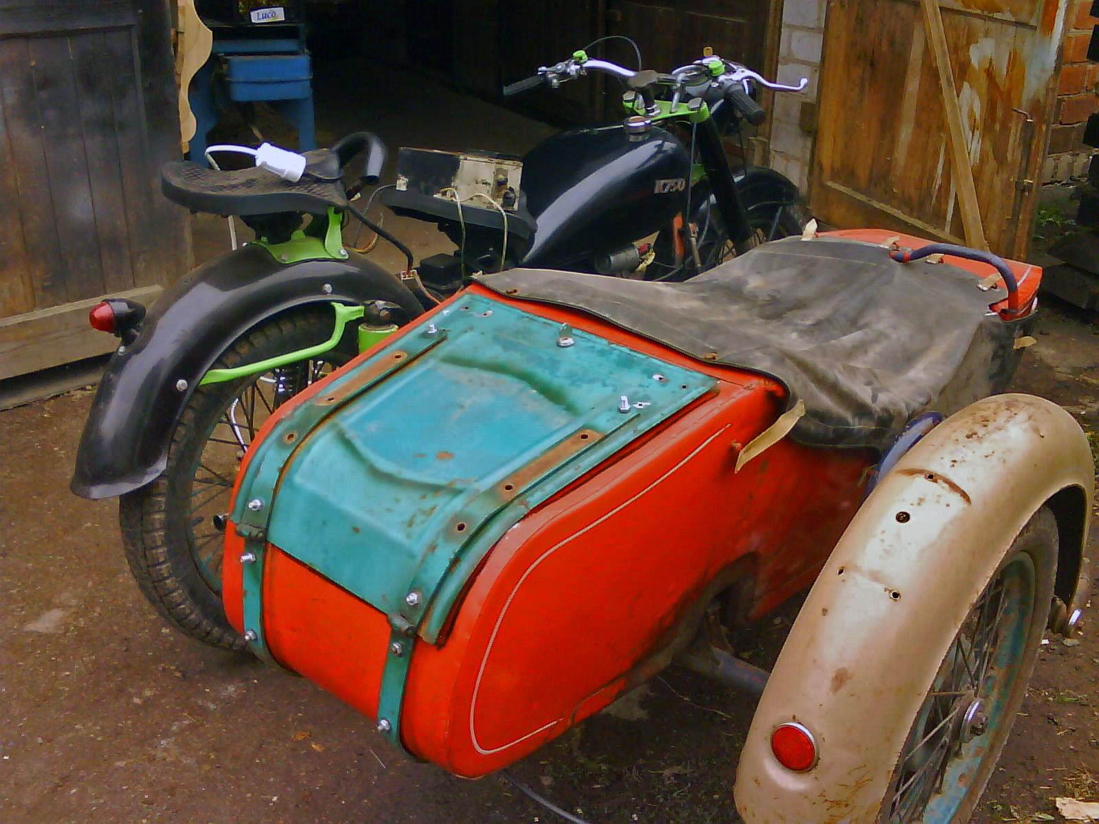 коляска на мотоциклі