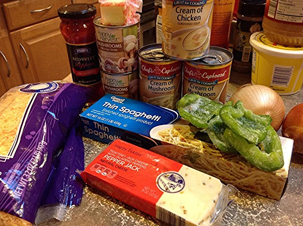 These are the main ingredients for this recipe. NOTE: I DID NOT SEASON THE...