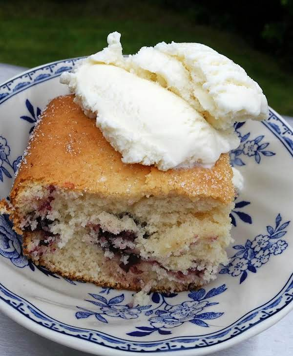 ~ Easy Blackberry Snacking Cake ~ Recipe
