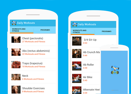 Daily Workouts fitness FREE
