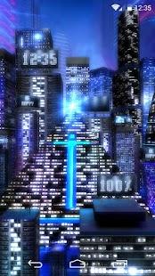 Space City Lite 3D LWP- screenshot thumbnail
