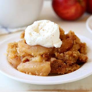 Slow-Cooker Apple-Cinnamon Cobbler.