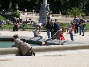Photo: The first of a five part series: Les Enfants Avec Des Bateaux Au Jardin De Luxembourg.