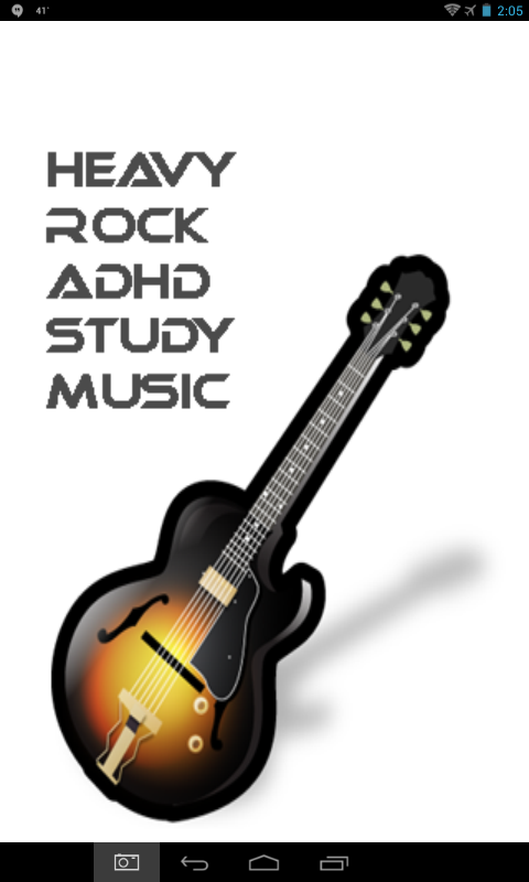 Guitar Rock ADHD Study Music- screenshot