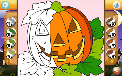 Halloween Coloring Book- screenshot thumbnail