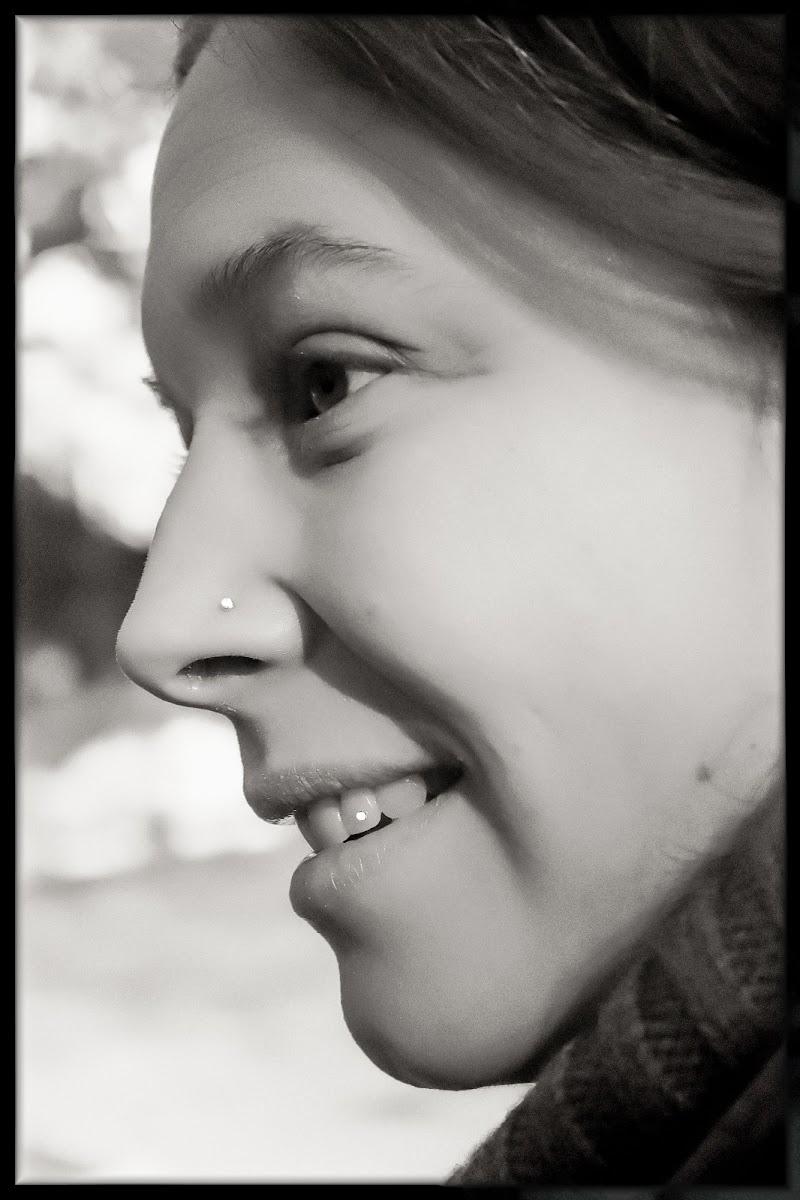 Profilo di donna di cs