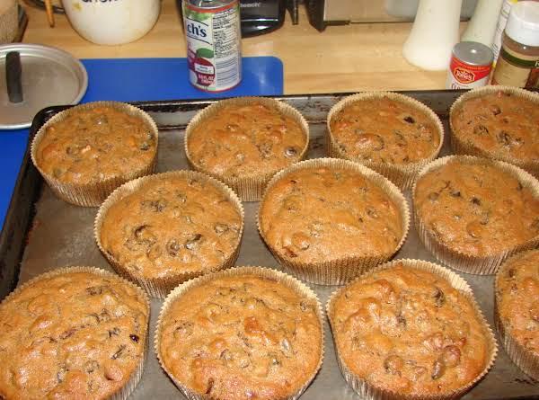 Finished Little Fruitcakes