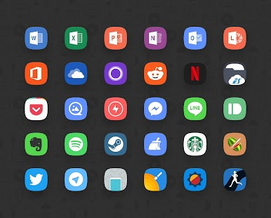 Delux UX - S8 Icon Pack- screenshot thumbnail