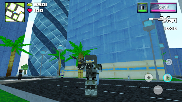 Skyblock Survival Royale Craft apk screenshot