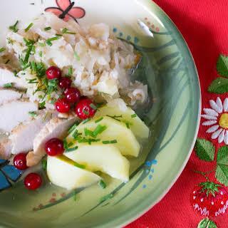 Estonian Style Sauerkraut with Pork and Barley. Mulgikapsad.