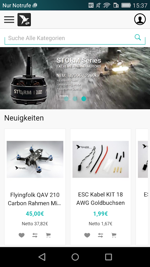 Flyingfolk FPV Racing Shop- screenshot
