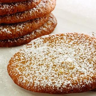 Lemon Grass Ginger Drop Cookies