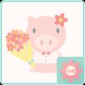 말랑말랑꽃가게 - 카카오톡 테마 icon