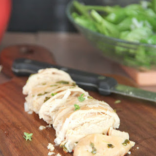 Lemon Thyme Grilled Chicken Breast