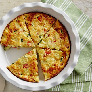 Impossibly Easy Zucchini Pie.