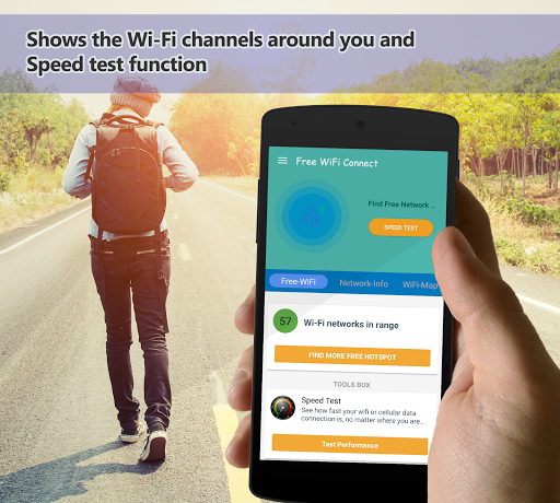 Download Free Wifi Connect Network Map & 4G Share Hotspot on