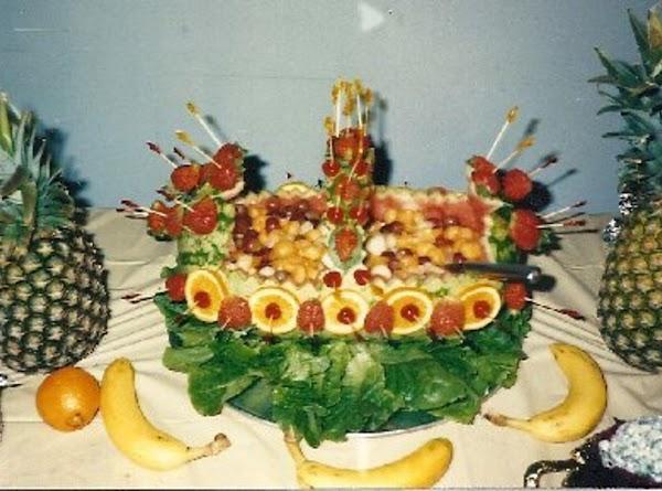 Lunch Watermelon Basket Recipe