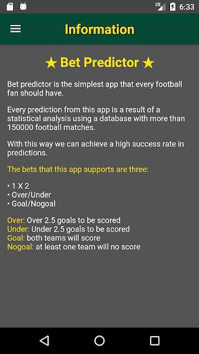 Bet Predictor  screenshots 6