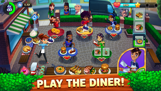 Diner DASH Adventures MOD Apk 1.3.8(Unlimited Coins) 1