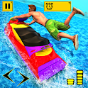 Jetski Derby - Water Jet Ski Racing Stunt2019 icon