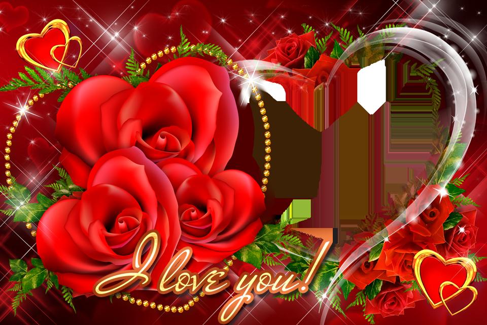 valentine photo frames hd screenshot - Download Picture Frames