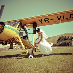 Oops ... my garter by Cristi Vescan - Wedding Bride ( garter, bride garter )