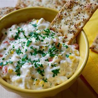 Slow Cooker Crab and Corn Dip.