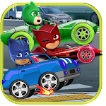 Masks Superheroes Car Racing Adventures Icon